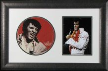 Elvis Presley Autograph Display Signed Menu